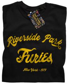 Baseball Furies Riverside T Shirt (Black)