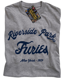 Baseball Furies Riverside T Shirt (Grey)