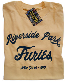 Baseball Furies Riverside T Shirt (Yellow)