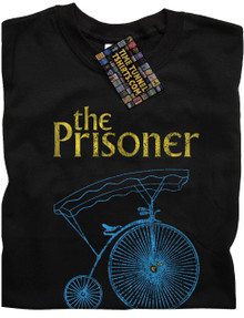 The Prisoner T Shirt (Black)