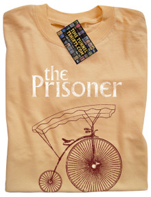 The Prisoner T Shirt (Yellow Haze)