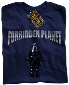 Forbidden Planet (Navy) T Shirt