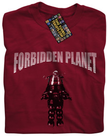 Forbidden Planet (Cardinal Red) T Shirt