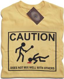 Caution T Shirt
