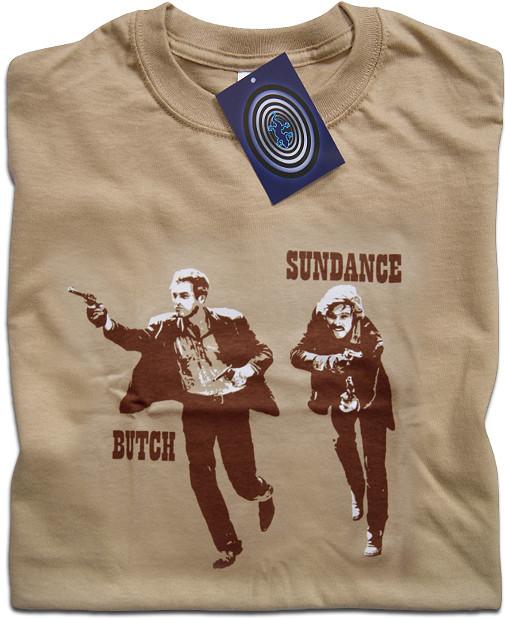 04965fb8 Butch Cassidy and The Sundance Kid T Shirt - TimeTunnelTShirts