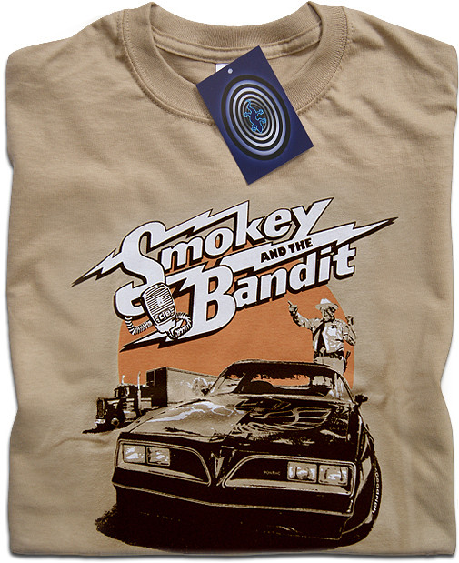 SMOKEY AND THE BANDIT RIDE AGAIN  MOVIE 100/% COTTON,MEN/'S T-SHIRT.,E0827