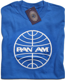 Pan Am T Shirt (Blue)