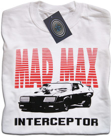 Mad Max Interceptor T Shirt (White)
