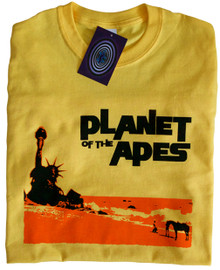 Planet of the Apes T Shirt (Yellow)