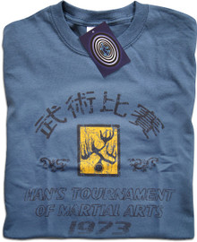 Hans Tournament Enter the Dragon (Blue) T Shirt