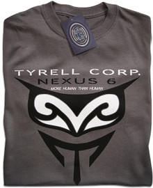 Blade Runner Tyrell Nexus 6 (Grey) T Shirt