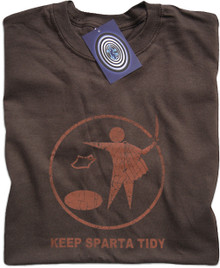 Keep Sparta Tidy T Shirt