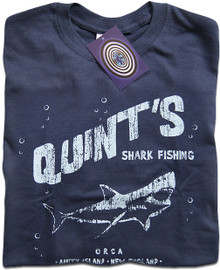 Quint's Shark Fishing T Shirt