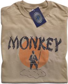 Monkey Magic (Tan) T Shirt