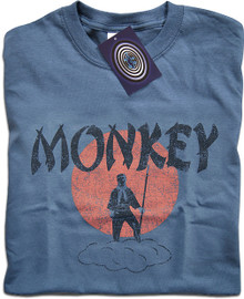 Monkey Magic (Blue) T Shirt