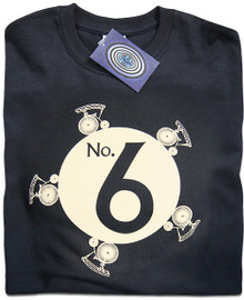 The Prisoner No.6 T Shirt