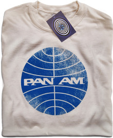 Pan Am T Shirt (Natural)
