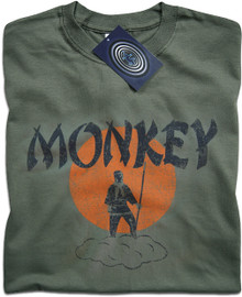 Monkey Magic (Green) T Shirt