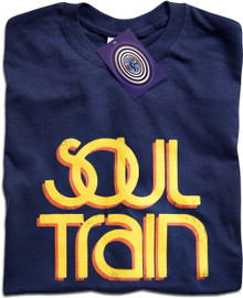 Soul Train (Blue) T Shirt
