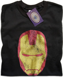 Iron Man (Face) T Shirt