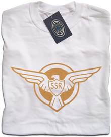 Captain America SSR logo T Shirt