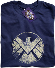 Agents of Shield (Blue) T Shirt