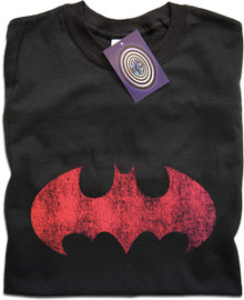 Batman (Red) T Shirt