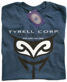 Blade Runner Tyrell Nexus 6 (Blue) T Shirt