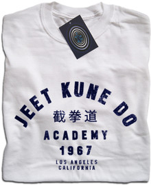 Jeet Kune Do Academy (White) T Shirt