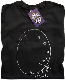 Hannibal Distorted Clock T Shirt