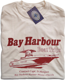 Bay Harbour Boat Trips (Natural) T Shirt