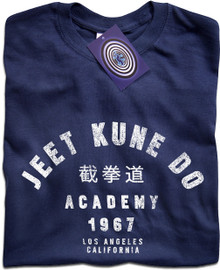 Jeet Kune Do Academy T Shirt (Blue)