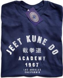 Jeet Kune Do Academy T Shirt (Blue)