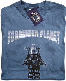 Forbidden Planet (Indigo) T Shirt