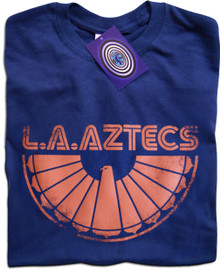 L.A. Aztecs T Shirt (Navy Blue)