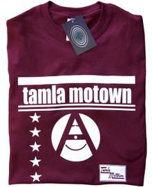 Tamla Motown T Shirt (Maroon)