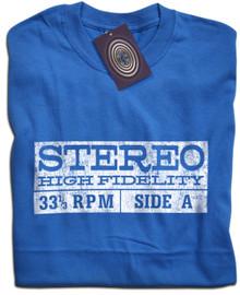 Stereo Hi Fi Retro T Shirt