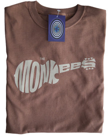 The Monkees T Shirt (Brown)