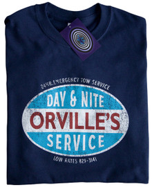 Orville's Tow Service T Shirt (Navy)