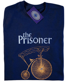 The Prisoner T Shirt (Blue)
