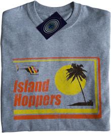 Island Hoppers Magnum P.I. T Shirt Grey