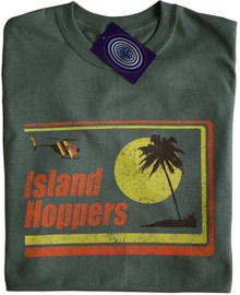 Island Hoppers Magnum P.I. T Shirt Green