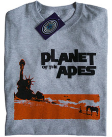 Planet of the Apes T Shirt (Grey)