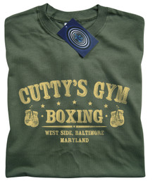 Cutty's Gym T Shirt (Green)