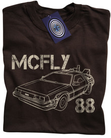 McFly 88 T Shirt (Brown)