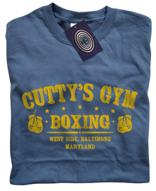 Cutty's Gym T Shirt (Indigo Blue)