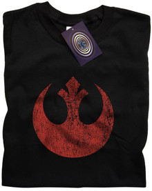 Rebel Alliance Symbol T Shirt (Black)