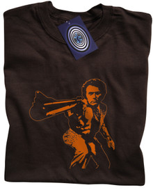 Dirty Harry T Shirt (Brown)