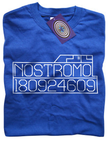 Nostromo Graphics T Shirt (Blue)