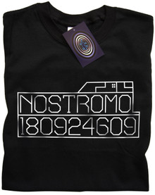 Nostromo Graphics T Shirt (Black)